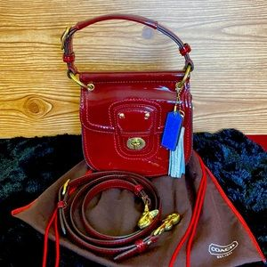 Genuine Coach Willis Crossbody Purse